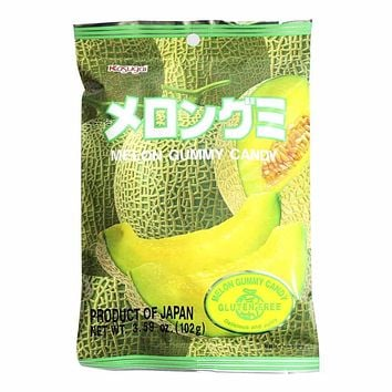Kasugai Melon Gummy Candy 3.7 oz. (107g)