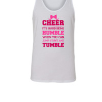 If Cheerleading Was Easy - Unisex Tank