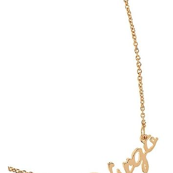 Virgo Zodiac Necklace in Gold | Boutique To You