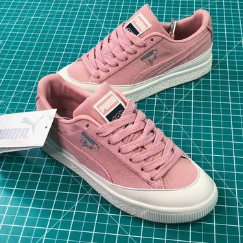 Diamond Supply Co. X Puma Clyde Pink Women s Sneakers Shoes - Sa 927101042f20