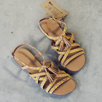 Sunstone Braided Sandals