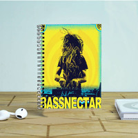 Bassnectar Tour Photo Notebook Auroid