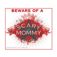 Beware of a Scary Mommy Sticker| kidecals