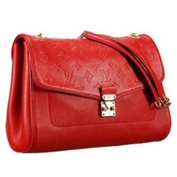 Tagre™ ONETOW Louis Vuitton Monogram Empreinte St Germain Red Bag