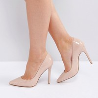 Faith Wide Fit Chloe Pumps at asos.com