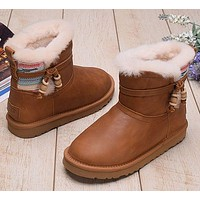 UGG Women Fashion Snow Boots Short Boots Shoes