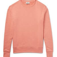 Acne Studios - Casey Loopback Cotton-Jersey Sweatshirt