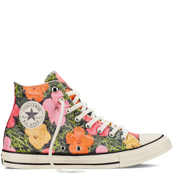 Chuck Taylor All Star Andy Warhol Floral