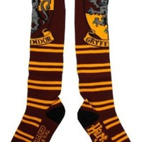 Harry Potter Juniors Knee High Socks (Gryffindor Red)