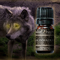 Skinwalker Cologne Oil: 5mL Amber Bottle of Shapeshifting Musk Artisan Fragrance