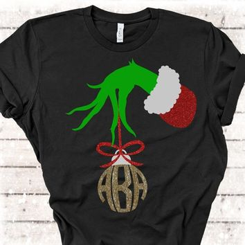 8677375b Grinch Hand,Grinch Monogram,Grinch Shirts,The Grinch svg,Grinch