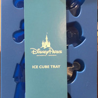 Disney Parks Mickey & Friends Blue Ice Cube Tray New