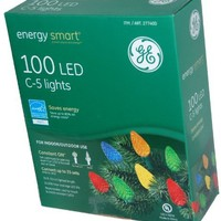 100 LED C-5 Holiday Christmas Lights (MULTI Color)