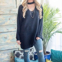 Valeri Oversized Sweater Tunic | S-XL