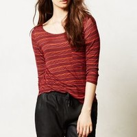 Reverie Tee by Anthropologie Plum Xs Apparel