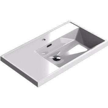 Sonia CODE Washbasin 32 inches Single Drop-In Rectangular MX1 Bathroom Sink