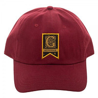 Gryffindor Woven Label Dad Hat