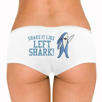 Shake It Like Left Shark Halftime Show Underwear you can customize!
