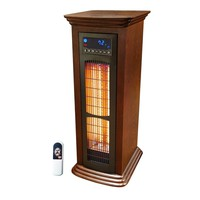 Infrared Heater Tower 1,500 Watts With Remote Control - 5,118 BTU's