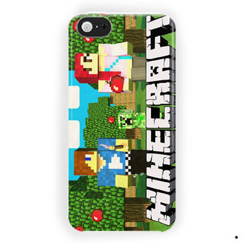 Minecraft Games Skin For iPhone 5 / 5S / 5C Case