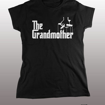 Funny Grandmother T-shirt - the godfather tee shirt, family tshirt, new grandparent, grandma gift, grandson, granddaughter, new baby, birth