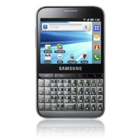 Samsung B7510 Galaxy Pro Unlocked GSM Smartphone with 3 MP Camera, Android OS, Touchscreen, QWERTY keyboard, Wi-Fi, GPS and MicroSD Slot - No Warranty - Platinum Silver