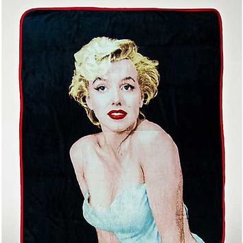 Marilyn Monroe Throw Blanket - Spencer's