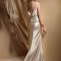 Bridal Gowns, Wedding Dresses by Alvina Valenta - Style AV9808
