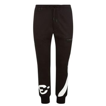 One Striped Black Sweatpants by Y-3