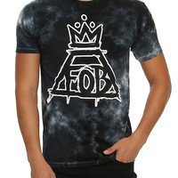 Fall Out Boy Crown Logo Tie Dye T-Shirt