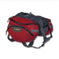 Ruffwear Palisades Pack, Medium, Red Currant