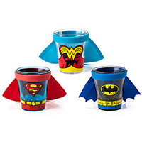 DC Comics Caped Shot Glass