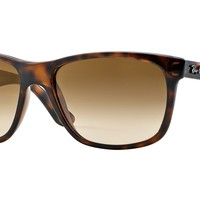 RAY BAN 0RB4181 Square Sunglasses Unisex Tortoise