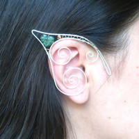 Handmade Elf Ear Cuffs! Woodland Nymph Jewellery, Pixie Ear Cuffs, Faerie Ears, Forest Elf, Fantasy Earcuffs, Fancy Dress, Elven Jewelry