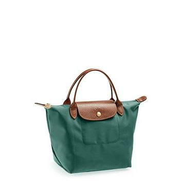 Longchamp Le Pliage Top Handle Bag, Mini, Cedar