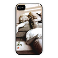 James Dean And Marilyn Monroe iPhone 4/4S Case