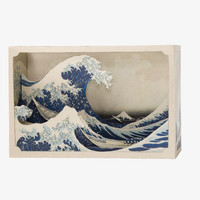 Tatebanko Paper Diorama Kit - Great Wave