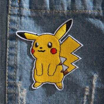Pokémon Iron On Patch - Pikachu