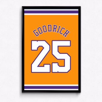 Gail Goodrich Number 25 Jersey