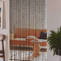 Bamboo Beaded Curtain | Urban Outfitters