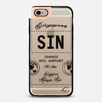 SIN - Singapore SE Asia - Travel The World iPhone 6 case by Love Lunch Liftoff | Casetify