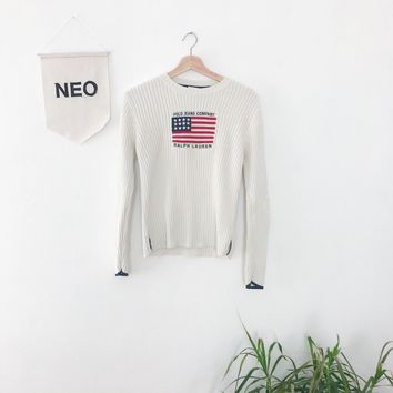Retro Patriot Ralph Lauren Sweater
