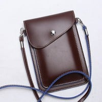 Back Slot Series Small Crossbody Cell Phone Purse Wallet Smartphone Bags For Women