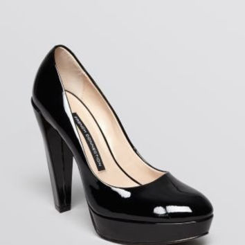 FRENCH CONNECTION Nambia High-Heeled Leather Pumps