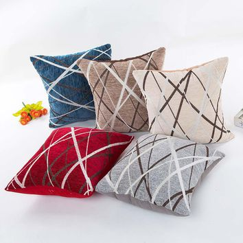 luxury knitted pillow case pillow covers geometric decorative throw pillow covers vintage