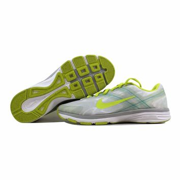 Nike Dual Fusion TR 2 Print White/Venom Green-Light Base Grey-Turbo Green 631661-101
