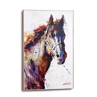 Poncho Horse Large Wall Art