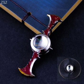 League of Legends Draven The Glorious Executioner Gladiator Skin Spinning Axes Dual Fidget Spinner