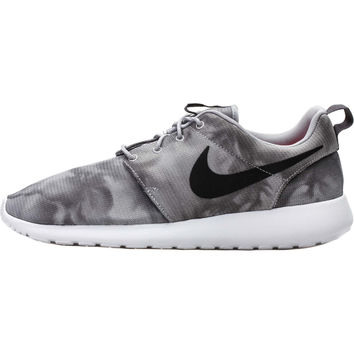 Nike Roshe One Print - Wolf Grey/Black/Dark Grey/White