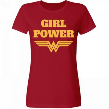 Girl Power Wonder Woman Parody